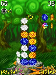 Mobile game 3D Flower Tower - screenshots. Gameplay 3D Flower Tower.