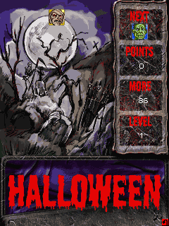 Download free mobile game: Halloween Blocks - download free games for mobile phone.