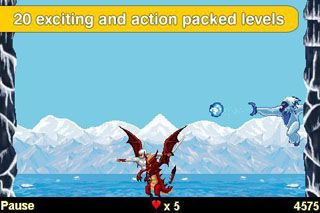 Download free game for mobile phone: Ninja Strike 2 Dragon Warrior - download mobile games for free.