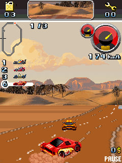 Download free game for mobile phone: Racing Rustle - download mobile games for free.