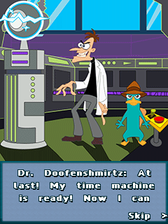 Download free mobile game: Phineas and Ferb: Time Travelers - download free games for mobile phone.