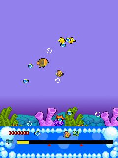 Download free mobile game: Deep-sea fish - download free games for mobile phone.
