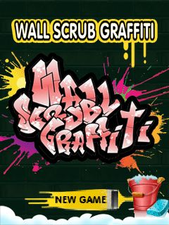 Wall Scrub Graffiti