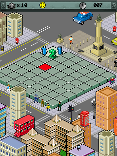 Jeu mobile Le Sapeur: la Ville Envahie - captures d'écran. Gameplay Minesweeper City Under Seize.