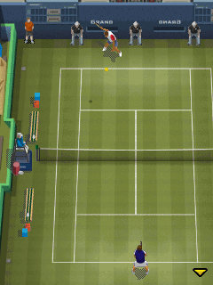 Jeu mobile Tennis professionnel 2013 - captures d'écran. Gameplay Pro tennis 2013.