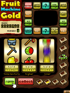 Download free game for mobile phone: Fruit Machine Gold - download mobile games for free.