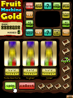 Mobile game Fruit Machine Gold - screenshots. Gameplay Fruit Machine Gold.
