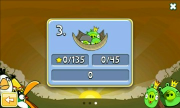 Mobile game Angry Birds Mult - screenshots. Gameplay Angry Birds Mult.