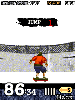Jeu mobile Le scateboard extrême - captures d'écran. Gameplay Extreme Skateboard.