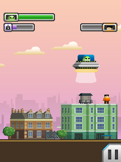 Download free mobile game: Aliens v Heroes - download free games for mobile phone.