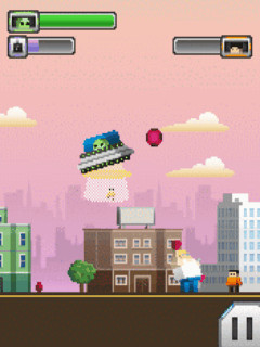 Download free game for mobile phone: Aliens v Heroes - download mobile games for free.