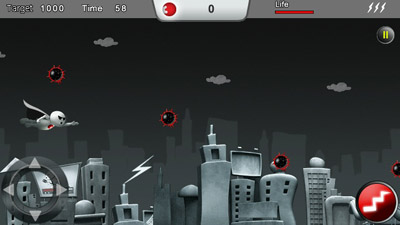 Download free game for mobile phone: Fly with super Zoozoo - download mobile games for free.