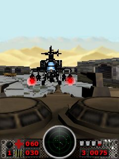 Скриншот java игры Heavy Forces 3D. Игровой процесс.