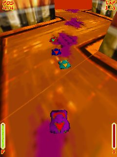 Download free game for mobile phone: Toxic Racer - download mobile games for free.