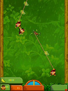 Jeu mobile Frères singes 2 - captures d'écran. Gameplay Monkey Brothers 2.