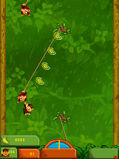 Download free mobile game: Monkey Brothers 2 - download free games for mobile phone.