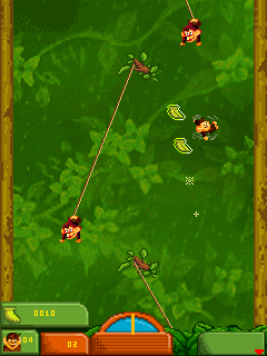 Download free game for mobile phone: Monkey Brothers 2 - download mobile games for free.