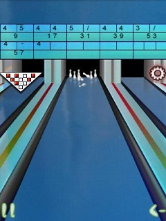 Download free mobile game: 2D Real Bowling Bow Bow - download free games for mobile phone.