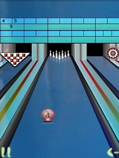Mobile game 2D Real Bowling Bow Bow - screenshots. Gameplay 2D Real Bowling Bow Bow.