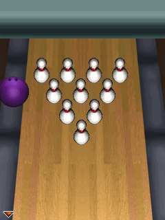 Download free game for mobile phone: Brunswick Bowling - download mobile games for free.