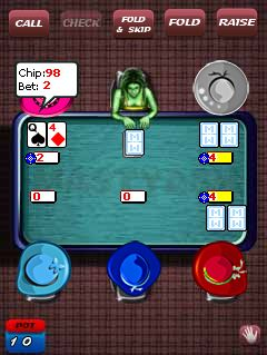 Download free mobile game: The world of poker - download free games for mobile phone.