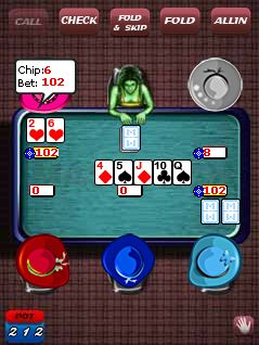 Download free game for mobile phone: The world of poker - download mobile games for free.
