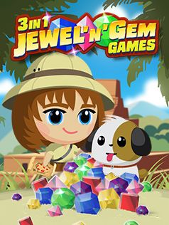 3 in 1 Jewel'n'Gem Games