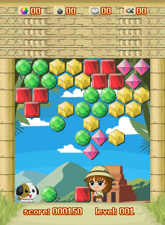 Download free game for mobile phone: 3 in 1 Jewel'n'Gem Games - download mobile games for free.