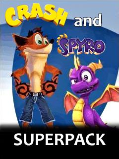 Crash and Spyro Superpack