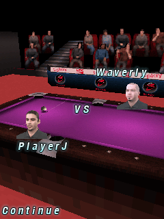 Download free mobile game: World Championship Pool 2009 3D - download free games for mobile phone.