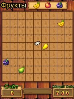 Download free mobile game: Collect fruits - download free games for mobile phone.
