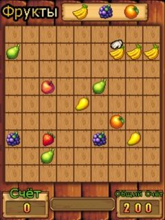 Download free game for mobile phone: Collect fruits - download mobile games for free.