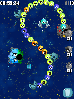 Download free game for mobile phone: Trouble Bubble 2 - download mobile games for free.