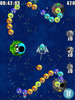 Mobile game Trouble Bubble 2 - screenshots. Gameplay Trouble Bubble 2.