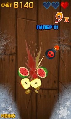 Download free game for mobile phone: Fruit ninja new - download mobile games for free.