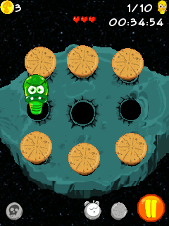 Mobile game Space Bugs - screenshots. Gameplay Space Bugs.
