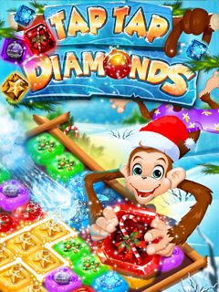 Xmas Tap Tap Diamonds