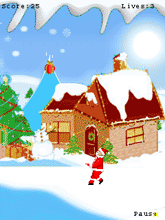 Mobile game X-mas Gift - screenshots. Gameplay X-mas Gift.
