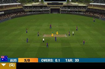 Download free game for mobile phone: IND vs AUS 2013 - download mobile games for free.