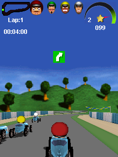 Download free game for mobile phone: Road Racer 3D - download mobile games for free.
