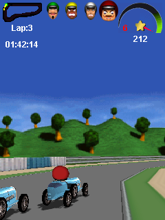 Mobile game Road Racer 3D - screenshots. Gameplay Road Racer 3D.