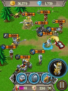 Mobile game Kingdoms & Lords - screenshots. Gameplay Kingdoms & Lords.