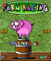 Download free mobile game: Farm Racing - download free games for mobile phone.