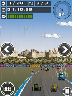 Jeu mobile Le Championnat de courses de voitures 2013 - captures d'écran. Gameplay Championship Racing 2013.