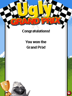 Mobile game Ugly Grand Prix - screenshots. Gameplay Ugly Grand Prix.