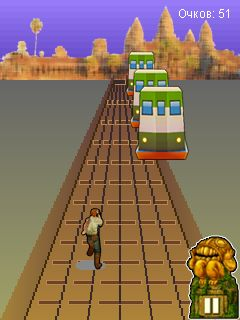 Mobile game Subway Surfers: Rome (Jungle) - screenshots. Gameplay Subway Surfers: Rome (Jungle).