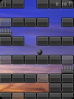 Jeu mobile La Rebond d'un balle - captures d'écran. Gameplay Rebound ball 2.