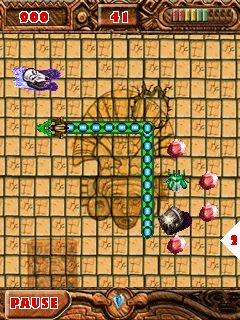 Download free mobile game: Aztec Snake - download free games for mobile phone.