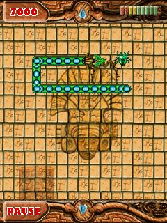 Download free game for mobile phone: Aztec Snake - download mobile games for free.