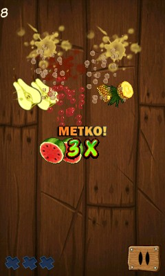Mobile game Fruit Ninja 4 - screenshots. Gameplay Fruit Ninja 4.